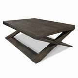 Xavier Coffee Table, Cerused
