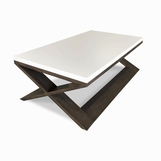 Xavier Rectangular Coffee Table, Two-tone