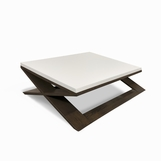 Xavier Square Coffee Table, Two-tone