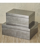 Yen Lacquered Boxes | Charcoal Leaf
