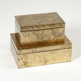 Yen Lacquered Boxes | Gold Leaf
