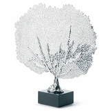 Zara Sea Fan Sculpture | Nickel