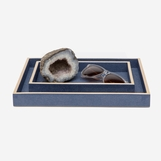 "Zaria ""Shagreen"" Small Trays 