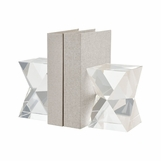 Zelda Crystal Bookends