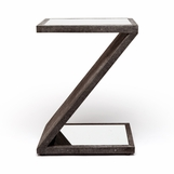 "Zena ""Shagreen"" Side Table 