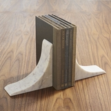 Zermatt Marble Bookends