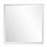 Zigler Wall Mirror | White