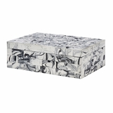 Zimbo Tiled Box | Marbled Brick