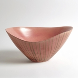 Zita Striped Ceramic Bowl
