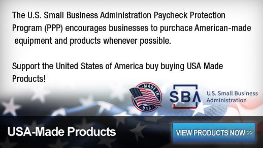 Products made in the USA help the USA!