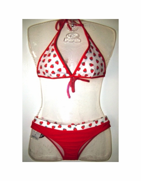 MAUI WEAR T744-B914Z BIKINI SET BRAZILIAN LYCRA REVERSIBLE