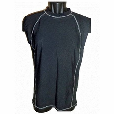Men's Sleeveless Quality Swim-Shirt / Rash-Guard