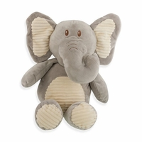 Cuddle Grey Elephant w/ Rattle