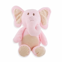 Cuddle Pink Elephant w/ Rattle