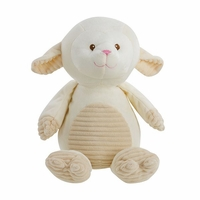 Cuddle Lamb Plush w/ Rattle