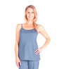 MIX AND MATCH MOISTURE WICKING CAMI TOP WITH SHELF BRA