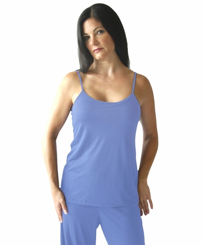 Moisture Wicking Cami With Built In Bra