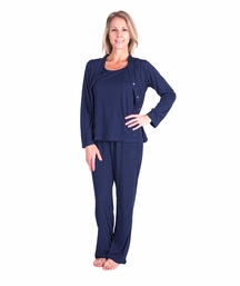 MOISTURE WICKING  3-PIECE PAJAMA SET