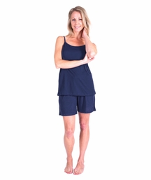 MOISTURE WICKING CAMI SHORTY PAJAMA SET