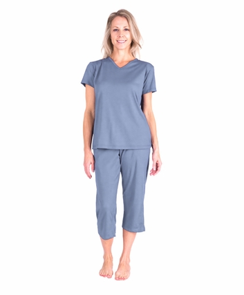 MOISTURE WICKING  CAPRI  PAJAMA SET