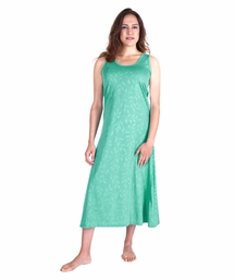 MOISTURE WICKING LONG TANK GOWN