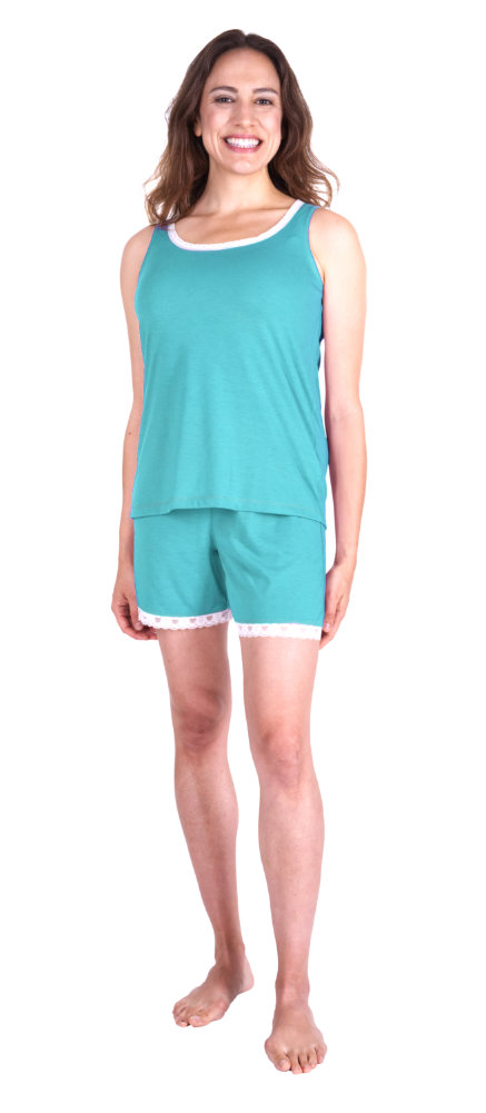642d265554582 Women's Shorty Pajamas | Menopause Pajama Set | Cool-jam