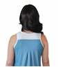 PLEATED FRONT MOISTURE WICKING SLEEVELESS NIGHTGOWN