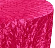 "120"" Pinchwheel Taffeta Tablecloth - Fuchsia 66909(1pc/pk)"