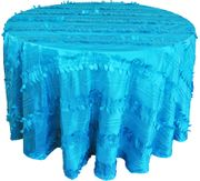"120""  Seamless Round Forest Taffeta Tablecloths (7 Colors)"