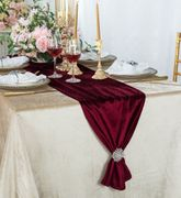 "13"" x 108"" Italian Velvet Table Runners ( 9 Colors )"