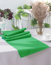 """13"""" x 108"""" Polyester Table Runners - Emerald Green 52938 (1pc)"""