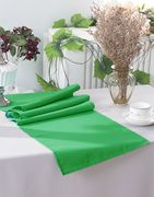 "13"" x 108"" Polyester Table Runners - Emerald Green 52938 (1pc)"