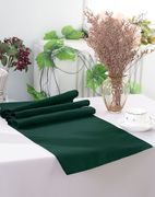 "13"" x 108"" Polyester Table Runners - Hunter Green / Holly Green 52919 (1pc)"
