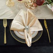 "20"" x 20"" Italian Velvet Table Napkins ( 9 Colors )"