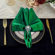 "20"" x 20"" Italian Velvet Table Napkins ( 10 Colors )"