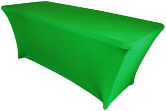 5 Ft (200 GSM) Rectangular Spandex Table Covers (18 Colors)