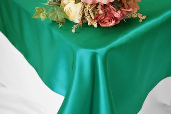54x108 Satin Rectangle Table Overlays (57 colors)
