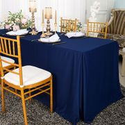 "72""x30""x29""(6 Ft) Rectangular Scuba (Wrinkle-Free) Fitted Table Covers (3 colors)"