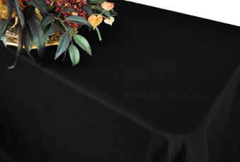 """60""""x120"""" Heavy Duty(200 GSM) Rectangular Polyester Tablecloths (27 Colors)"""
