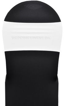 """7""""x 13"""" Spandex Chair Bands (40 Colors)"""