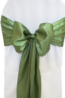 Satin Chair Sashes - 8x108 (57 Colors)