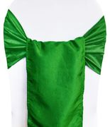"9.5"" x 108"" Crushed Taffeta Chair Sashes - (31 Colors)"