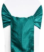 "9.5""x108"" Crushed Taffeta Chair Sashes - Oasis 61158(10pcs/pk)"