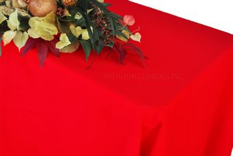 90 x 156 Heavy Duty(200 GSM) Rectangular Polyester Tablecloths (27 Colors)