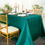 "90""x 156"" Rectangular Satin Tablecloth - Oasis 55758(1pc/pk)"