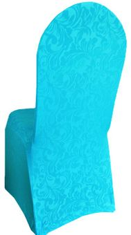Embossed Spandex Banquet Chair Covers (17 colors)