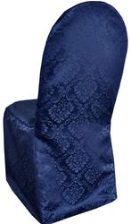 Marquis Damask Banquet Jacquard Polyester Chair Covers (11 Colors)