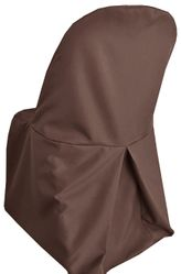 Polyester Folding Chair Cover - Chocolate 52391(1pc/pk)