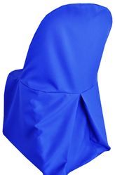 Polyester Folding Chair Cover - Royal Blue 52322 (1pc/pk)