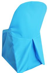 Polyester Folding Chair Cover - Turquoise 52385 (1pc/pk)